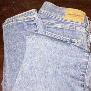 Light-wash, Denim, Light blue, Skinny jeans
